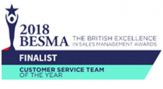 2018 BESMA Finalist for Customer Service Team logo